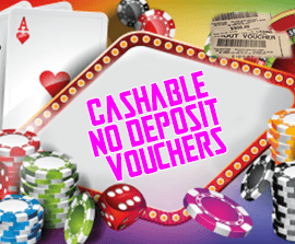 bestnewcasinos.uk Cashable No Deposit Vouchers